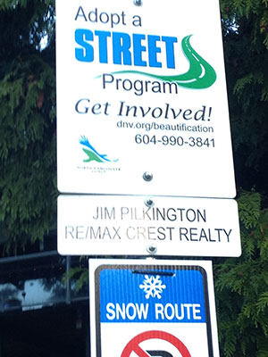 Lynn Valley Adopt A Street