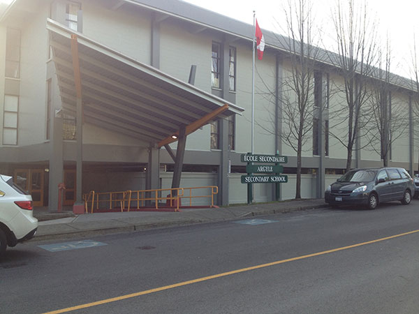 Argyle Secondary School Lynn Valley