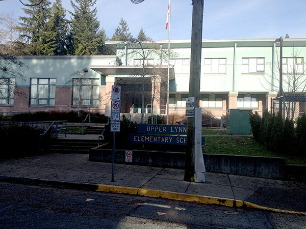 Upper Lynn School Lynn Valley